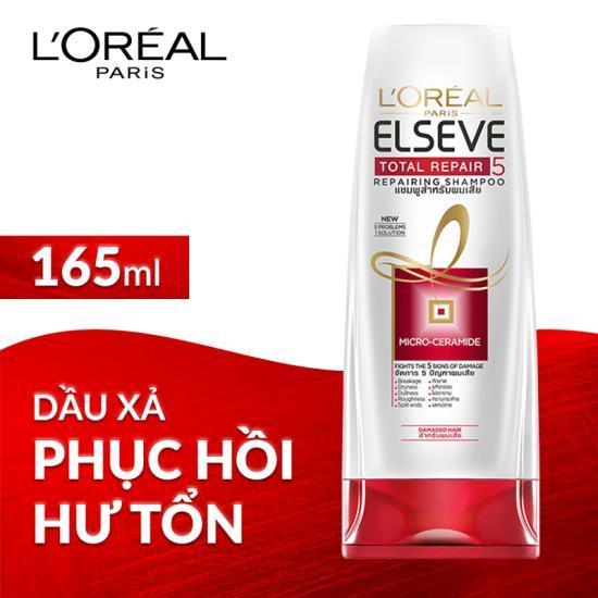 Dầu xả phục hồi tóc LOréal Elseve Total Repair 5 Repairing Shampoo 165ml