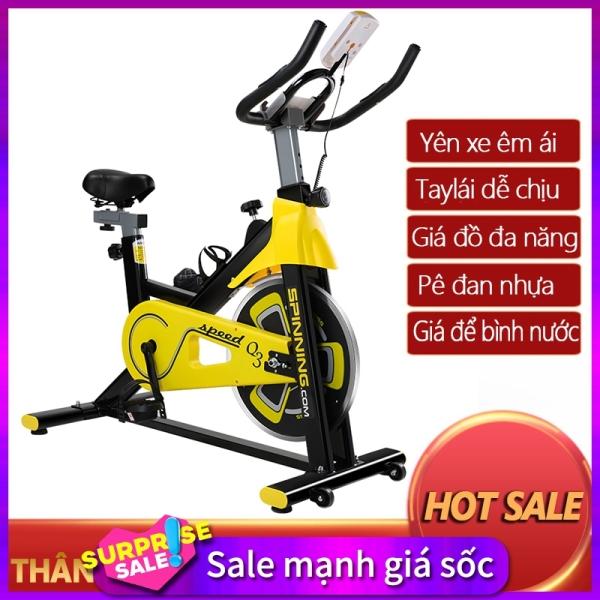 Bảng giá Xe đạp tập gym tại nhà màu vàng phối đen khỏe khoắn dụng cụ thập gym máy tập gym tại nhà camry