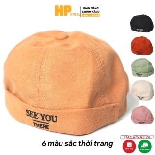 Nón Beanie vành tròn Mũ tròn phong cách Retro Hàn Quốc form Unisex nam nữ N04 thumbnail