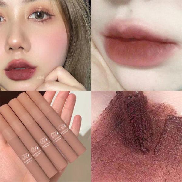 🥜 Son Kem Lì HẠT DẺ DAIMANPU D48 matte lipstick lâu trôi mềm mịn căng bóng dưỡng môi sỉ rẻ son môi WE STORE 🥜