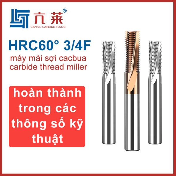 máy mài sợi cacbua  carbide thread miller HRC60° Thích hợp cho các bộ phận thép và hợp kim nhôm