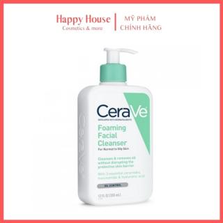 Sữa rửa mặt cho da dầu, mụn, nhạy cảm Cerave Foaming Facial Cleanser- Happy House thumbnail