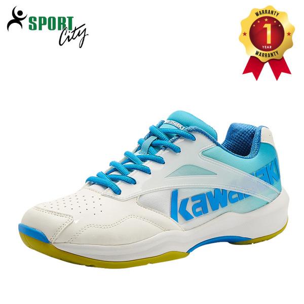 Giày cầu lông Kawasaki K171 chuyên nghiệp nam nữ, để kếp, chống lật cổ chân, giày bóng chuyền chuyên nghiệp
