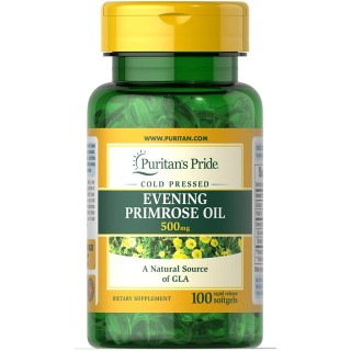 Viên uống tinh dâù hoa anh thảo Evening Primrose Oil 1000mg 120v của Puritan s Pride(1300mg--v lọ120v) thumbnail