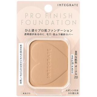 Lõi phấn trang điểm Shiseido Integrate Pro Finish 10g - Nhật Bản thumbnail