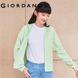 Áo khoác nữ chống tia UV chống nắng và tia cực tím thương hiệu Giordano 05371090 thumbnail