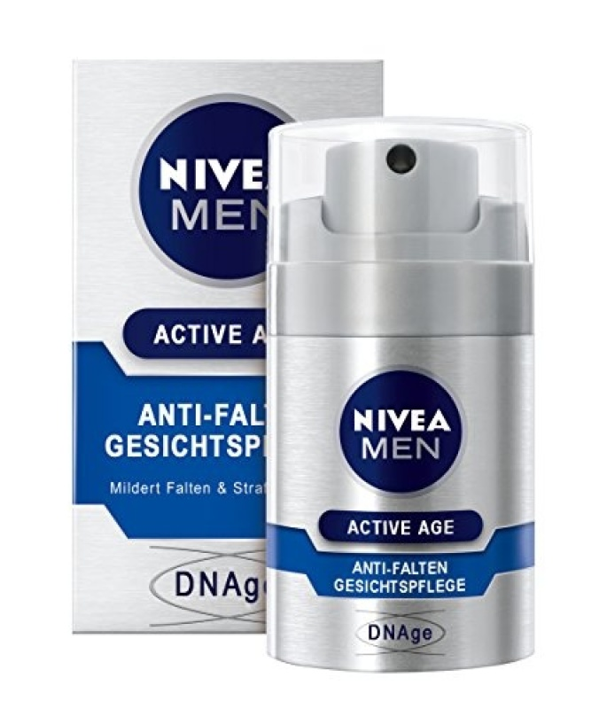 Kem dưỡng chống nhăn cho nam NIVEA Men Active Age 50ml (Đức) giá rẻ