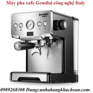 Máy pha cà phê Gemilai CRM 3605 Espresso-Thương hiệu Ý tích hợp vòi nước nóng và đầu đánh bọt sữa cao cấp- Công nghệ ngâm ủ giúp cafe tươi ngon- Máy pha cafe chuyên nghiệp cho nhà hàng- Bảo hành 1 năm thumbnail