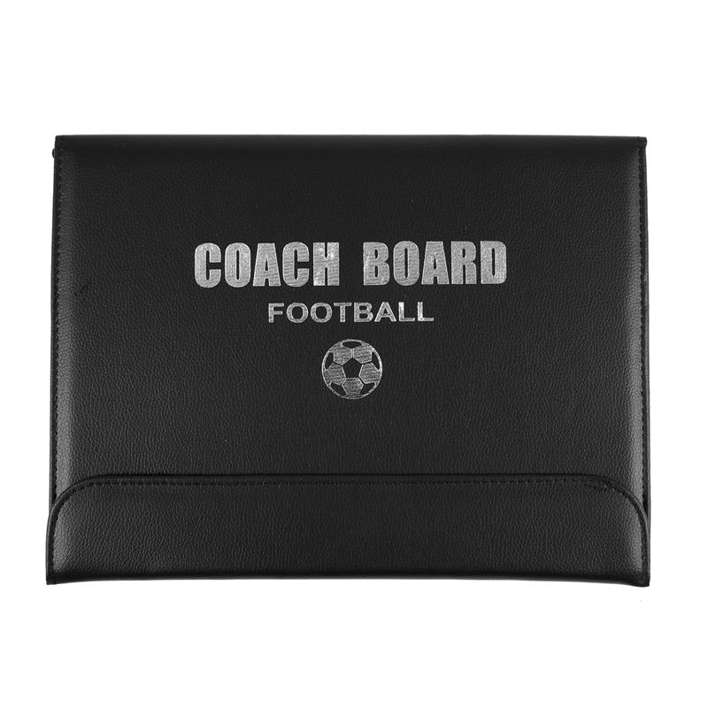Offer Khuyến Mãi Portable Trainning Assisitant Equipments Football Soccer Tactical Board 2.5 Fold Leather Useful Teaching Board