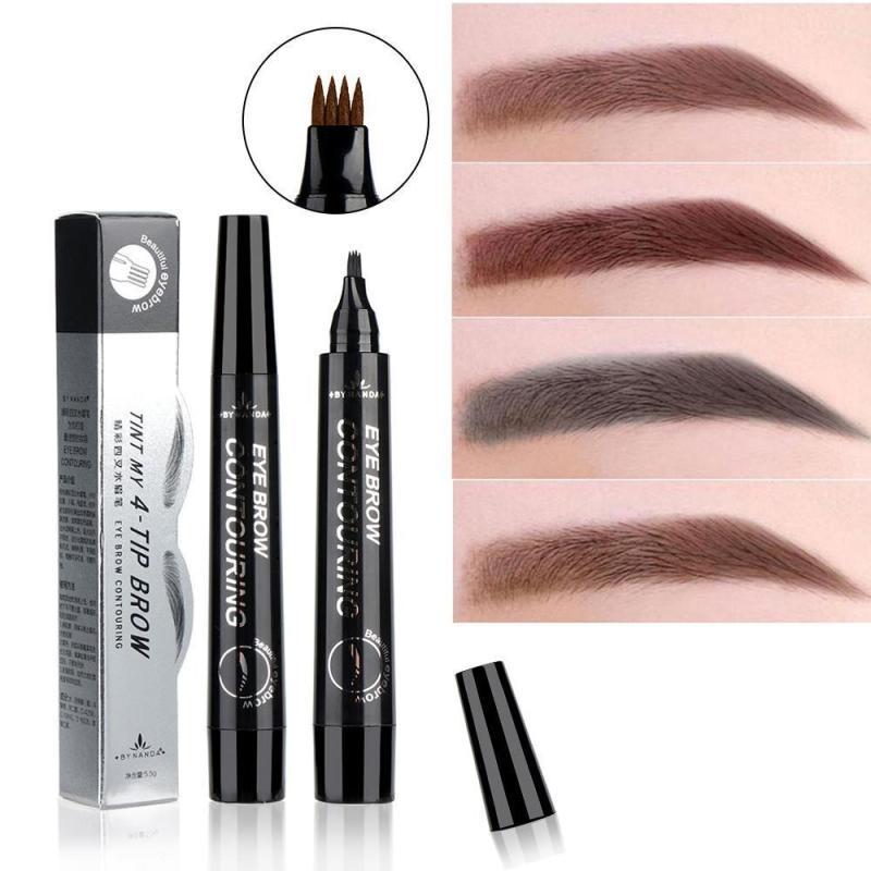 Bút chì kẻ mày phẩy sợi 4D Suake giúp lông mày đậm và đẹp hơn -CKM56-K04T2 nhập khẩu