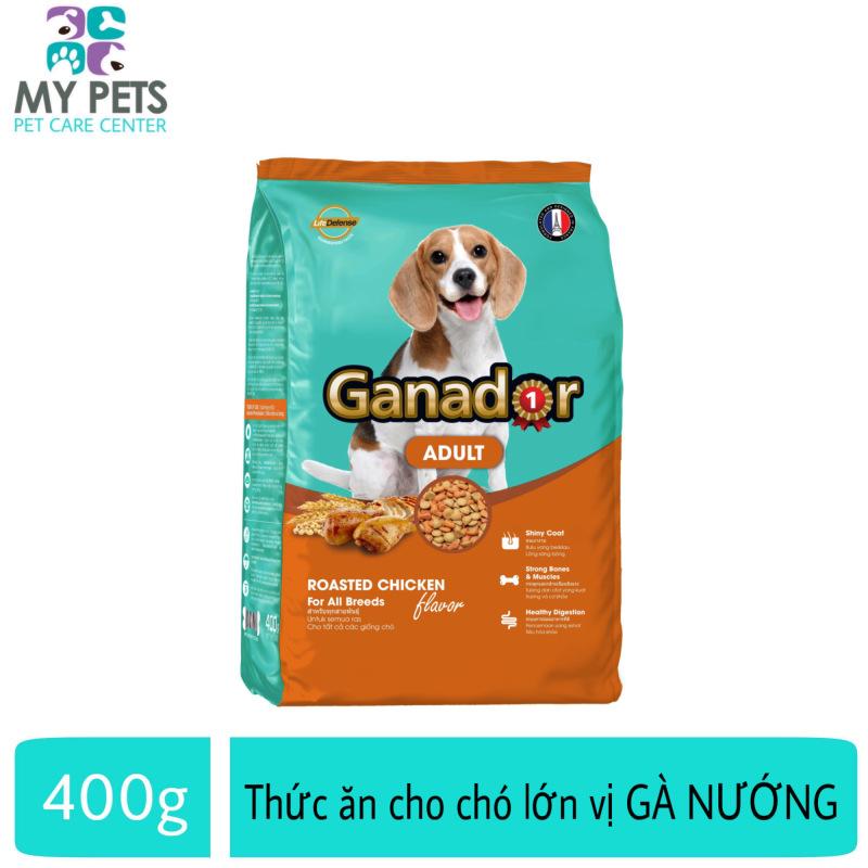 Thức ăn cho chó trưởng thành hương vị gà nướng Ganador Adult Roasted Chicken - Gói 400g