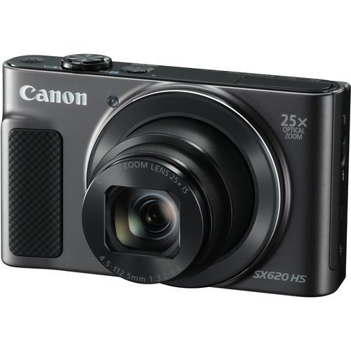 Máy ảnh Canon PowerShot SX620 HS Digital Camera (đen) Cùng Khuyến Mại Sốc