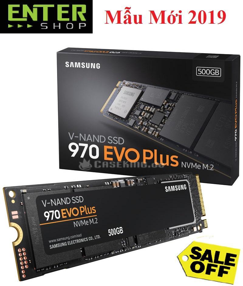 Ổ cứng SSD 500Gb Samsung 970 EVO Plus PCIe NVMe M.2 2280 (MZ-V7S500/AM)