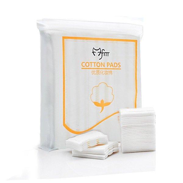 ❤️FREESHIP❤️ Bông tẩy trang 3 lớp Cotton Pads [Túi 222 miếng], Bông làm sạch da mặt chất liệu cotton giá rẻ
