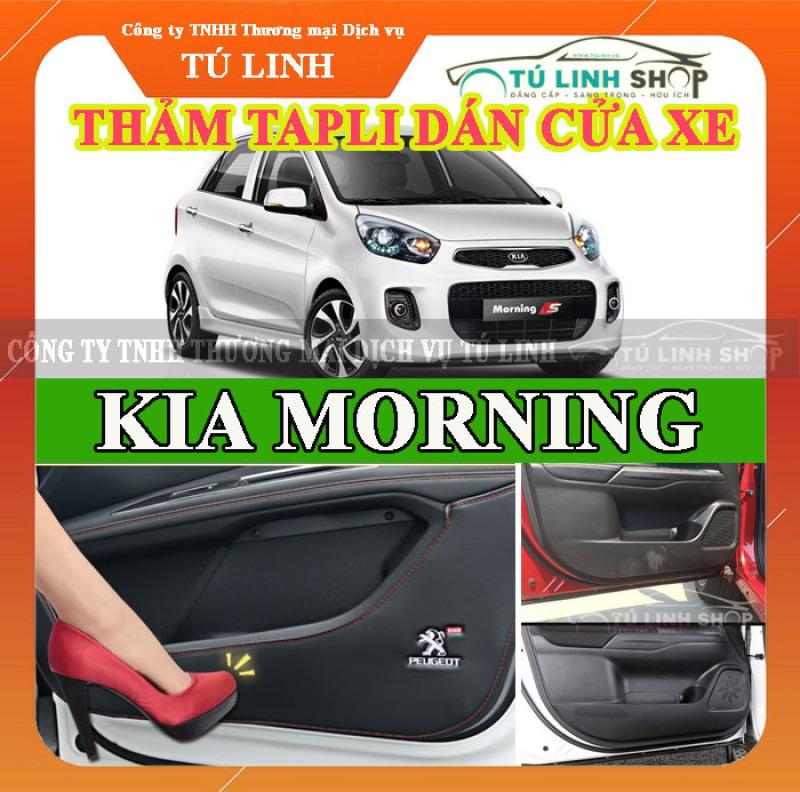 Bộ 4 Thảm Tapli dán cánh cửa chống trầy xước xe MORNING 2011-2018 - CarSun Store phụ kiện chuyên dành cho xe ô tô