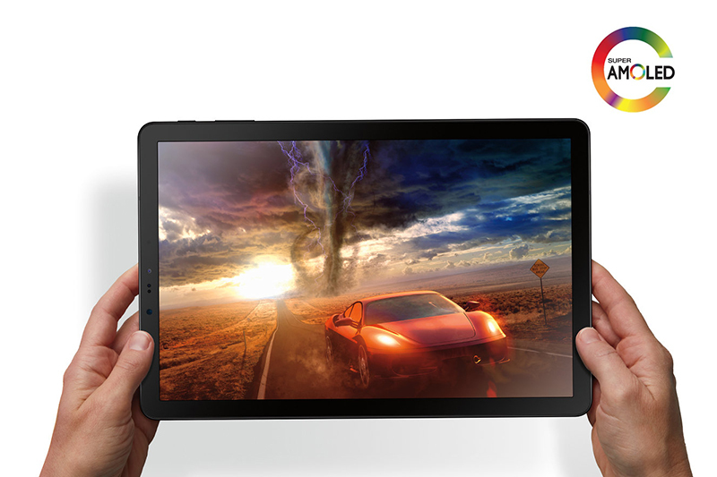 Máy tính bảng Samsung Galaxy Tab S4 10.5  wifi [add sẵn 2 phần mềm học online tienganh123, luyenthi123 bản quyền trọn đời máy], Độ phân giải 2k màn hình 10.5 inch, Chip xử lý Snapdragon 835, pin lên tới 7300 chính hãng