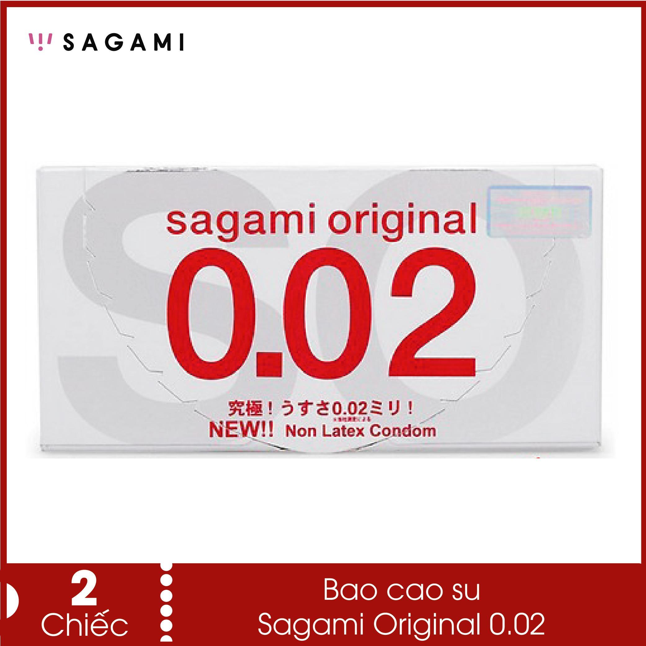Bao cao su siêu mỏng Sagami Original 0.02 - Siêu mỏng ,siêu dai, siêu chịu lực nhập khẩu