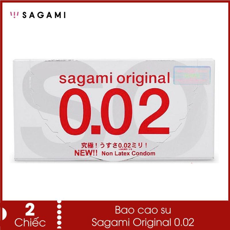 Bao cao su siêu mỏng Sagami Original 0.02 - Siêu mỏng ,siêu dai, siêu chịu lực