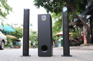 ( LOA SIÊU HOT 2021 ) Loa Vi Tính Sub Hơi Mỹ, Loa Soundbar, Loa vi tính Lohao MAV 2235, Âm Thanh Stereo Cực Sống Động, Kết nối Bluetooth 5.0 - 2 Loa Vệ Tinh - Công Suất Lên Đến 100W - Kèm Remote thumbnail