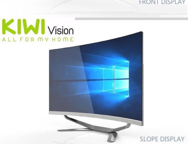 Bảng giá Bộ máy tính để bàn All in One Kiwivision - Tất cả trong 1 màn hình cong 27  full view, CPU Intel® Core™ i5-3450 (3.1-3.5Ghz, 6M, x4) , Ram 4GB DDR3 1600Mhz,  SSD :  250G, Chipset H81 - Bộ Kiwivision Office 27H6155 Plus Phong Vũ