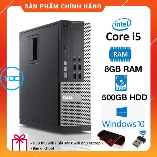 Bảng giá Case máy tính để bàn Dell Optiplex 790 SFF Core i5/ Ram 4GB/ HDD 500GB. Quà Tặng, Bảo hành 2 năm. Hàng Nhập Khẩu Phong Vũ