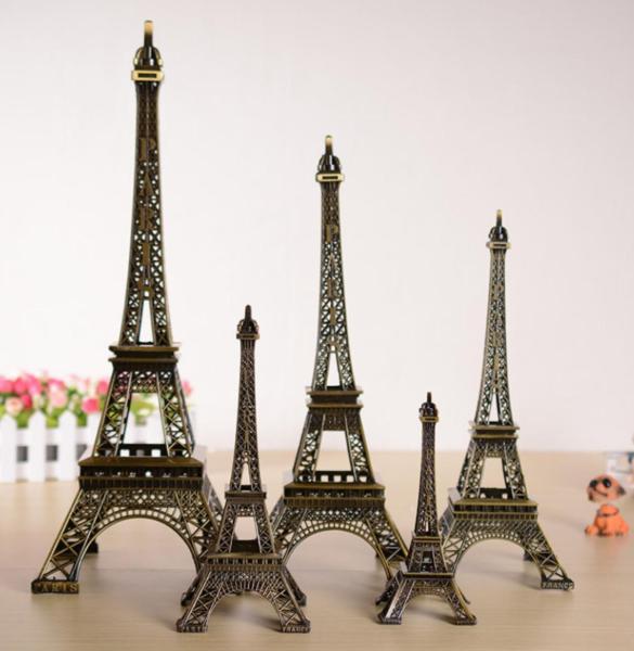 Mô hình tháp Eiffel để bàn trang trí cao 25 cm