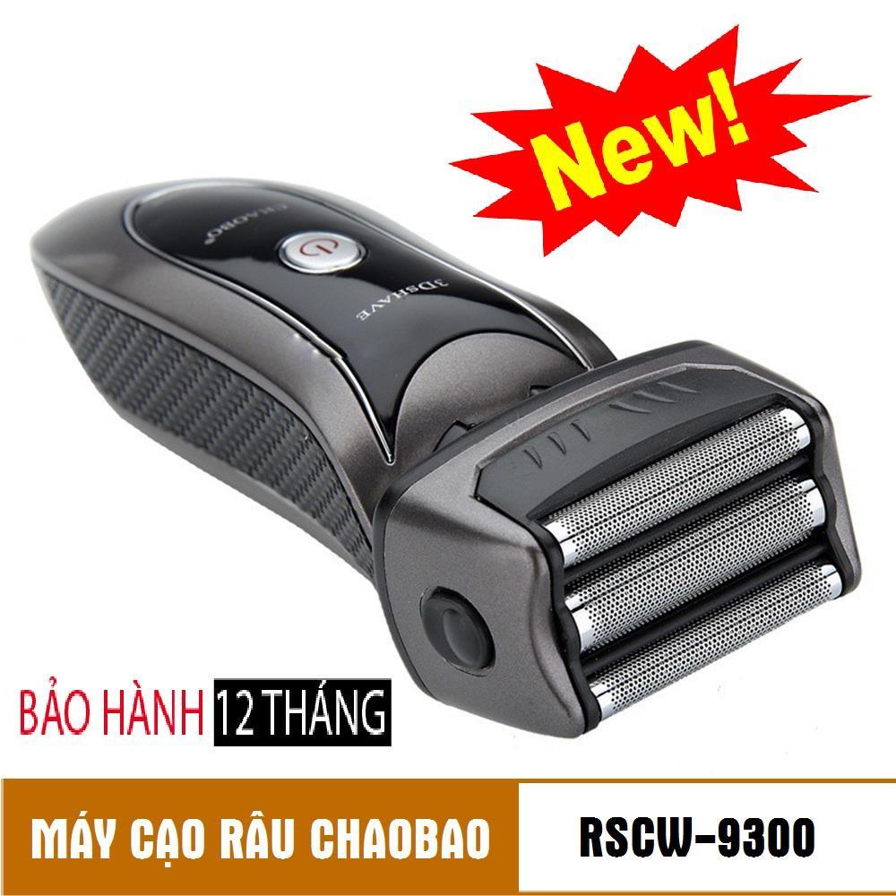Máy Cạo Râu Chaobao Cao Cấp RSCW-9300 Sắc Lẹm, 3 Lưỡi Kép Titanium - Chất Lượng, Giá Rẻ, Bảo Hành 12 Tháng