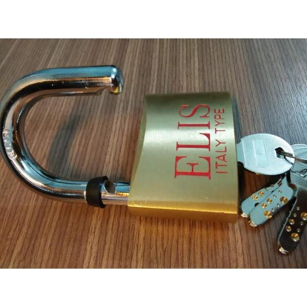 Ổ Khóa Cửa Elis 6 Phân 60mm Khóa Lớn Đồng Thau Chìa Lỗ Siêu An Toàn Nhập Khẩu  Chính Hãng