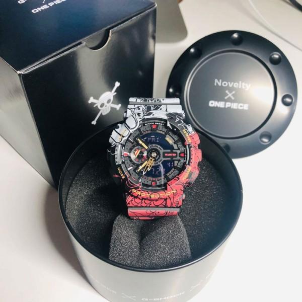 Đồng Hồ Casio G-Shock One Piece GA-110 - Đồng hồ G Shock thể thao nan phiên bản giới hạn bán chạy