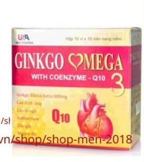 Hoạt huyết dưỡng não ginkgo omega 3 Coenzym Q10 mỗi hộp 100 viên -thực phẩm bổ não- hoat huyet duong nao- hoat huyet bo nao- hoat huyet duong nao traphaco- hoạt huyết dưỡng não ginkgo biloba - viên uống bổ não ginkgo biloba 200 thumbnail
