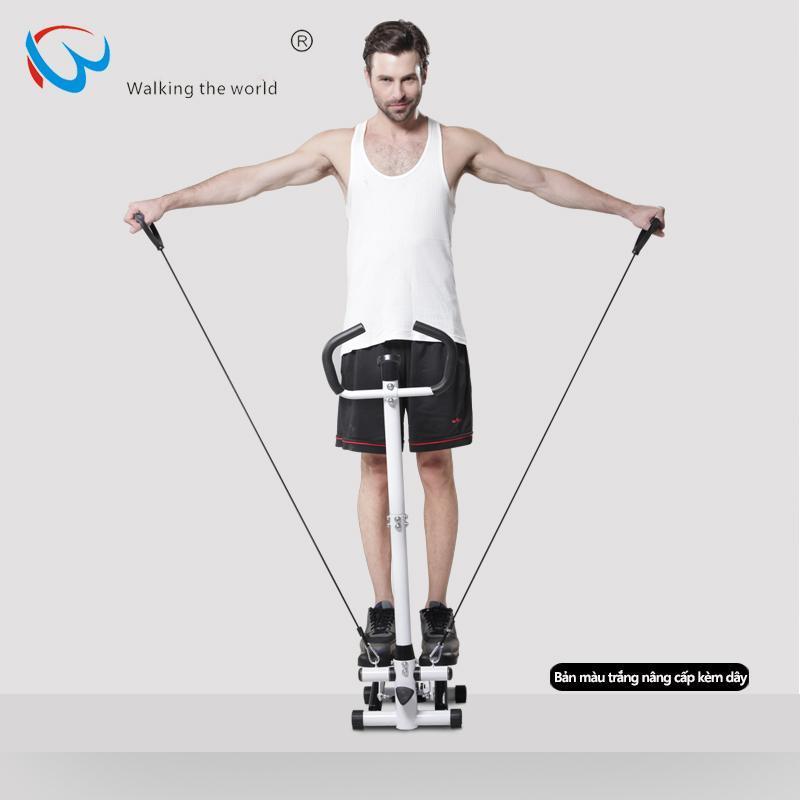 Máy bước bộ tại nhà máy tập bước chân có tay cầm thon gọn săn chắc rèn luyện sức khỏe đa chức năng