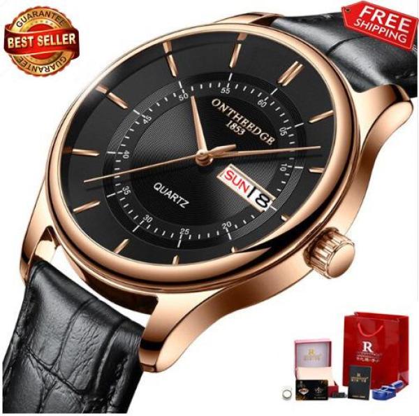 Đồng hồ Ontheedge dây da siêu đẹp RZY029 (fullbox)