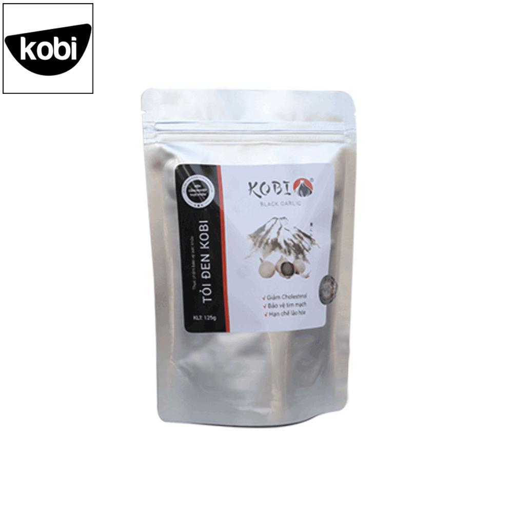 Tỏi đen KOBI một nhánh cao cấp nguyên vỏ túi 125g