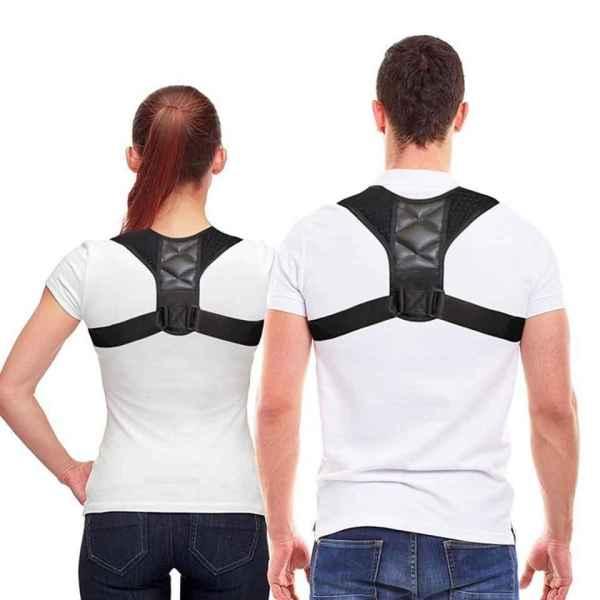 [CÓ VIDEO] Đai lưng chống gù lưng cải thiện cột sống đeo bản dài-Đai chống gù lưng hiệu quả free size-Đai chống gù lưng hiệu quả-(màu đen)