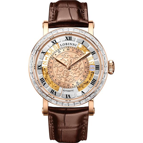 Đồng hồ nam chính hãng LOBINNI L1830-2 chuẩn Thụy Sỹ