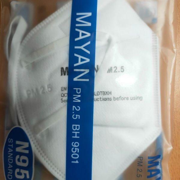 Khẩu trang MAYAN đạt chuẩn N95 Kháng Khuẩn/ Bụi Mịn 2.5PM