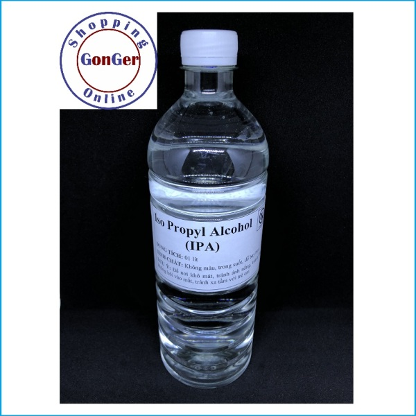 Cồn IPA | Iso Propyl Alcohol | IPA tech Korea, Taiwan, Japan | GonGer Shopping Online