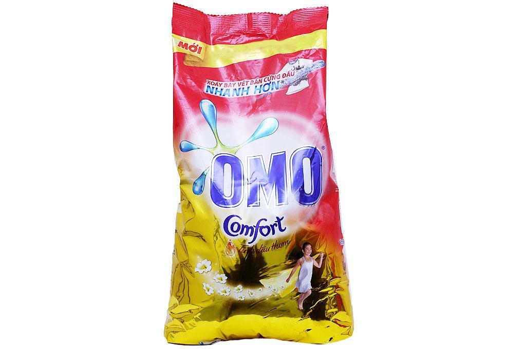 Bột Giặt OMO Comfort Tinh Dầu Thơm Tinh Tế 5.5kg Đang Giảm Giá