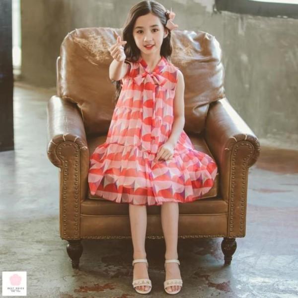 Giá bán Áo đầm cho bé gái 10 tuổi (3-12 tuổi) ☑️ Quần áo bé gái 8 tuổi ☑️ đồ em bé gái