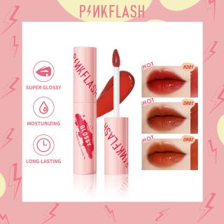 PINKFLASH Watery Glam Lip Gloss Super Glossy Shiny High Quality Moisturizing Non-Sticky Long-Lasting 1 Piece 30g thumbnail