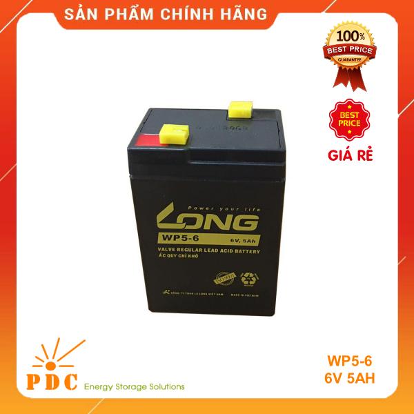 Bảng giá Ắc Quy LONG 6V 5Ah –WP5-6 Phong Vũ
