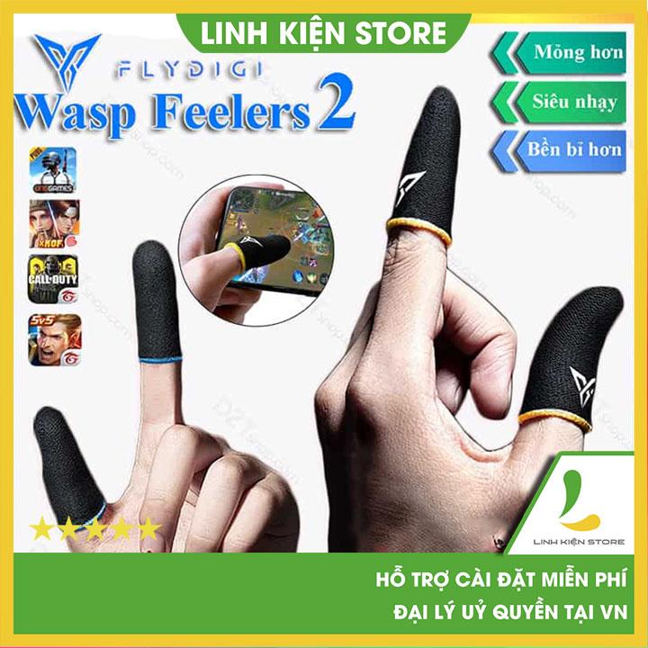 Flydigi Wasp Feelers ver2   Găng tay chơi game PUBG, Liên quân, chống mồ hôi, cực nhạy