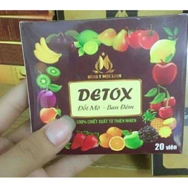 20 Detox ban đêm x3 cao cấp