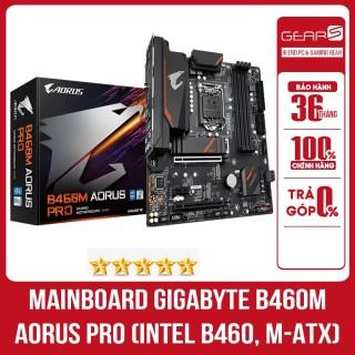 Mainboard Gigabyte B460M AORUS PRO (Intel B460 Socket 1200 m-ATX 4 khe RAM DDR4) - Bảo hành chính hãng 36 Tháng thumbnail