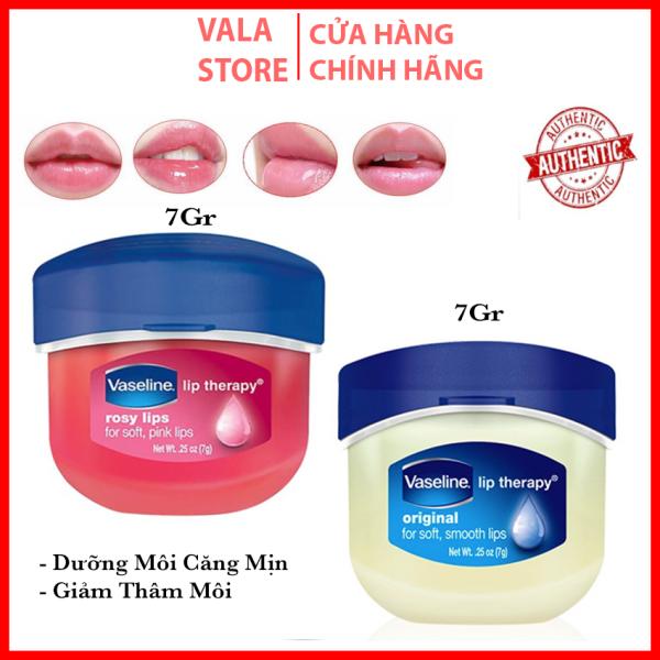 [Chính Hãng] Son Dưỡng Môi Vaseline, Làm Hồng Môi, Giúp Môi Căng bóng Lip Therapy Rosy Lip (7g)