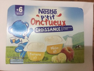 Sữa chua Nestle vỉ 6 hộp vị chuối đào (6m+) date T10.2021 thumbnail
