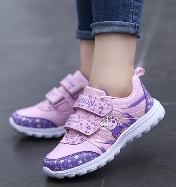 Giá bán Giày bé gái in Heo Peppa Ta36