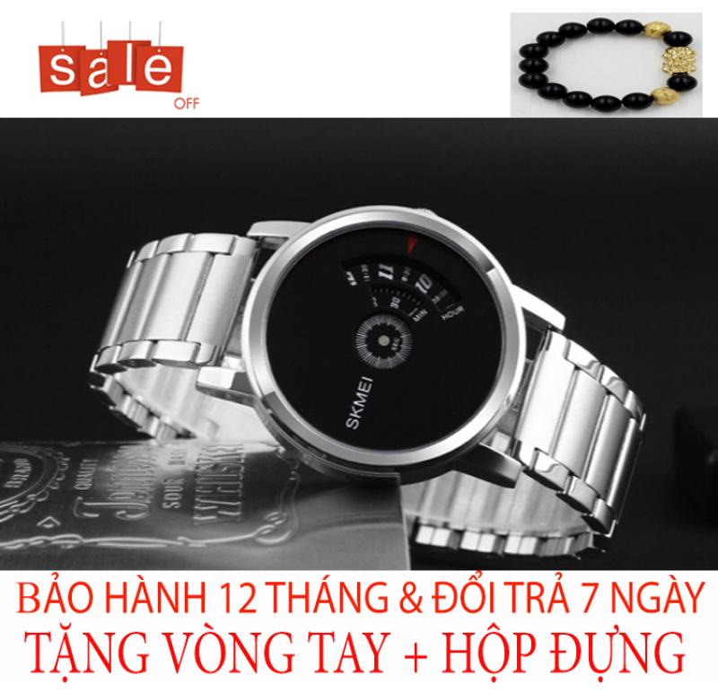 [Ở ĐÂU RẺ HƠN SHOP HOÀN TIỀN] Đồng hồ nam SKMEI M7 Dây thép không gỉ Bảo hành 12 tháng