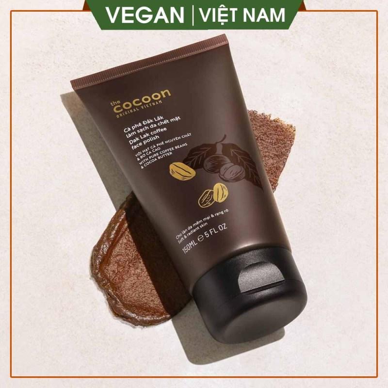 Cà phê Đắk Lắk làm sạch da chết cho mặt, làm sạch da, giúp ngăn ngừa mụn, làm thông thoáng lỗ chân lông 150ml giá rẻ