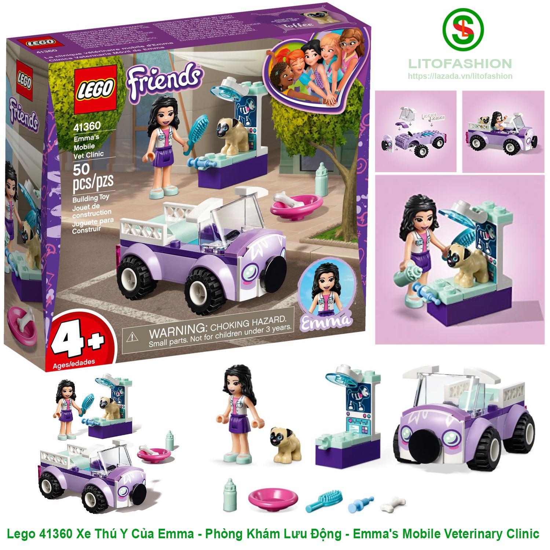 Lego 41360 Xe Thú Y Của Emma - Phòng Khám Lưu Động - Emma's Mobile Veterinary Clinic Giảm Giá Khủng